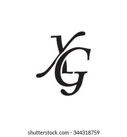 XG initial monogram logo