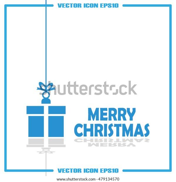 xmas gift vector illustration EPS 10.