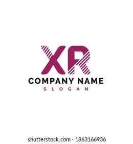 XR Letter Logo Design. XR Letter Logo Vector Illustration - Vector