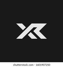 XR logo and icon  designs
