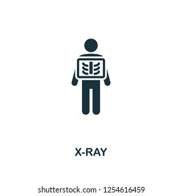 X-Ray icon. Premium style design from healthcare collection. Pixel perfect x-ray icon for web design, apps, software, printing usage.
