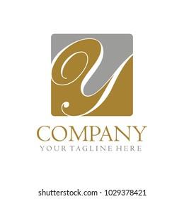 Y initial logo