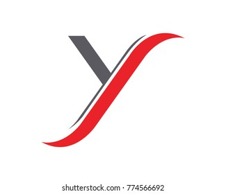 Y Letter Logo Template vector icon design
