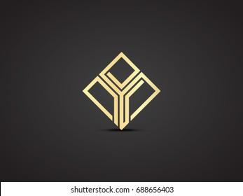 Y letter vector icon