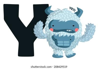 Y for Yeti
