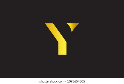 Y YY Letter Initial Logo Design Template