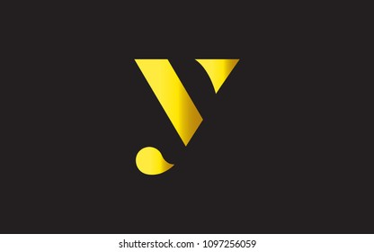 Y YY Letter Initial Logo Design Template Vector Illustration