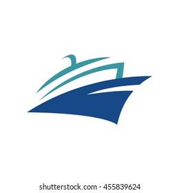 Yacht logo templates. Vector, Sailboat, Nautical, Marine, Symbols