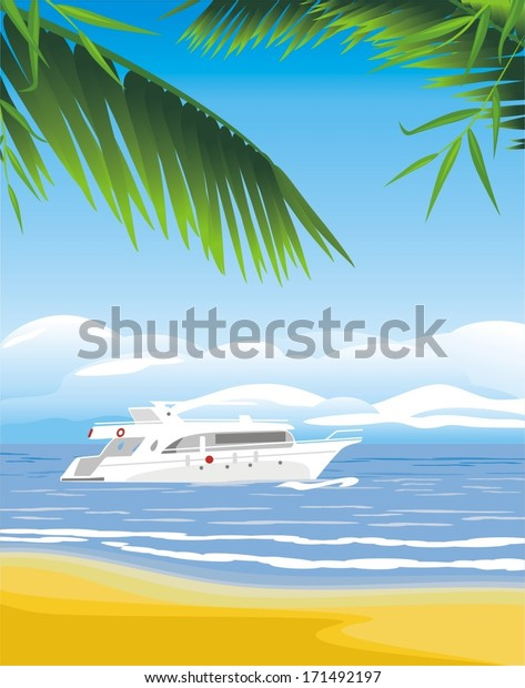 yacht-on-seascape-background-vector-600w