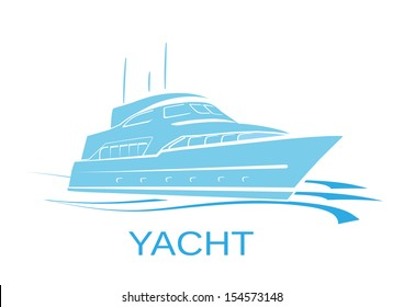 YACHT SHIP SILHOUETTE VECTOR
