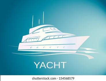 YACHT SHIP vector