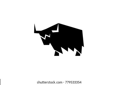 Yak cow abstract