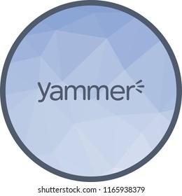 Yammer, logo, media