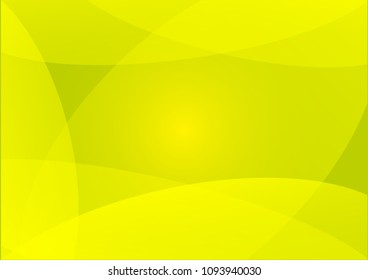 Yellow Abstact background, Light Yellow vector, Beautiful color Yellow sample in A4 size, Yellow vector pattern for posters.