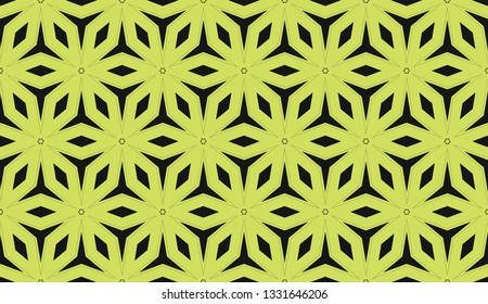 Yellow . abstract seamless geometric pattern. for wallpapers, web page background, surface textures, Image for advertising booklets, banners. Vector illustration
