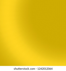 Yellow abstract simple halftone dot background pattern template