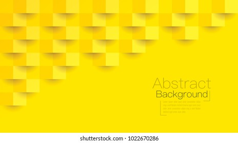 Yellow abstract texture. Vector background can be used in cover design, book design, poster, cd cover, website backgrounds or advertising.