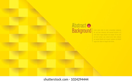 Yellow abstract texture. Vector background can be used in cover design, book design, poster, cd cover, flyer, website backgrounds or advertising.