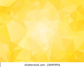 yellow background with triagles - sun motif