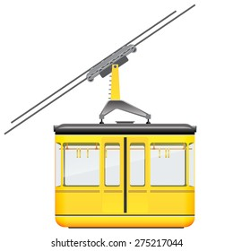 yellow cabinet mountain monorail