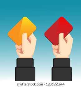Yellow Card and Red Card