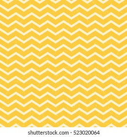 Yellow chevron seamless patter for web, print, wallpaper, packaging, wrapping, background for invitation, greeting card or holiday decor. Christmas decorative pattern.