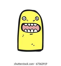 yellow creature cartoon