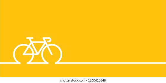 Yellow flag banner World Bicycle day race tour spain Sport icon Cyclist t shirt Cycling symbol Funny vector bike Polka dot jersey Sports for Italia or France Finish symbol Comic clipart cartoon