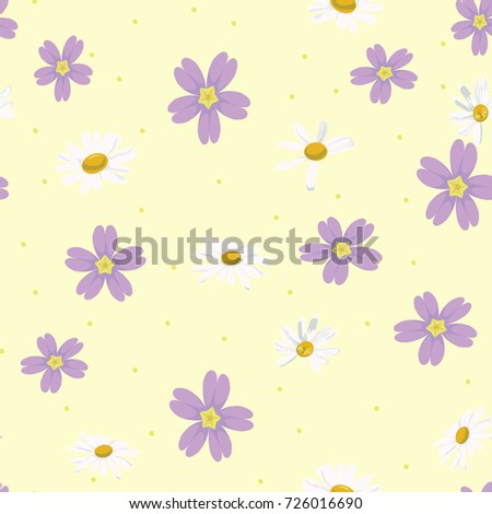 Yellow Flower Sky Tulip Spring Yellow Stock Vector Royalty Free