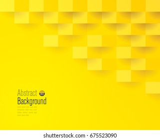 Yellow geometric texture. Vector background can be used in cover design, book design, website background, CD cover, advertising.