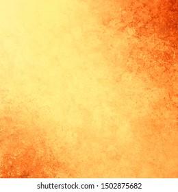 Gelber goldener Hintergrund, Vektorgrafik mit Vintage-Texturfarben und orangefarbenen Kamingrenzen in warmen Herbstfarben oder in toskanischen Farben