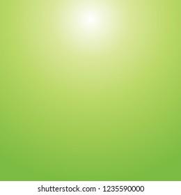 Yellow green Titanite gemstone gradient texture background in square.