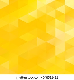 Yellow Grid Mosaic Background, Creative Design Templates