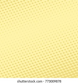 yellow halftone gradients, vector background