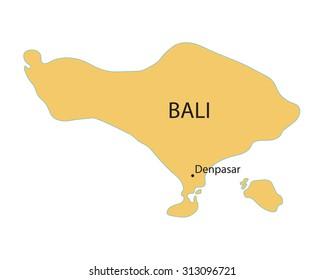 Bali Maps Images Stock Photos Vectors Shutterstock