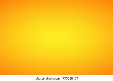 Yellow orange abstract gradient light background