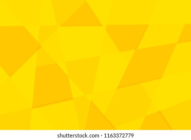 yellow orange abstract triangles retro paper pattern geometric mosaic party background
