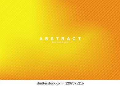 Yellow and orange color template with blurred gradient. New trend of background element.