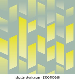 yellow parallel shapes on gray seamless pattern