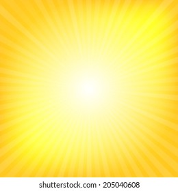 Yellow rays texture background illustration