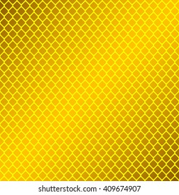 Yellow reflector pattern