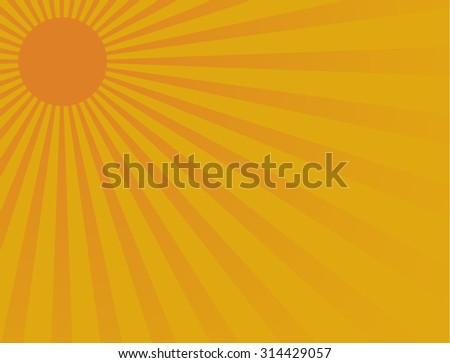 11295035743 Yellow Shiny Sun Vector Ray Background Stock Vector (Royalty Free ...