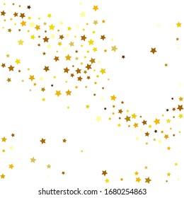 Yellow Stars Wallpaper. Golden Confetti Poster. Tiny Sparkling Modern. Celebration Sky. Gold Starry Holiday. Glitter Modern. Summer Modern. Party Anniversary.