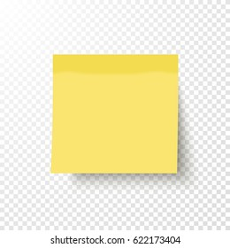 yellow post note sticker sticky note stock vector royalty free