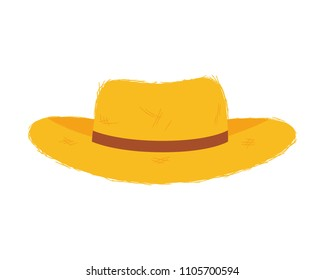 3b526ea5b Cartoon Straw Hat Images, Stock Photos & Vectors | Shutterstock