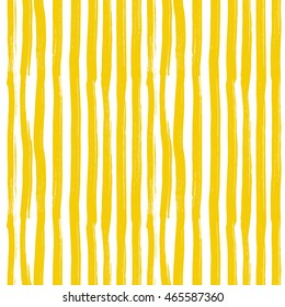 Yellow stripes pattern. Background vector illustration.