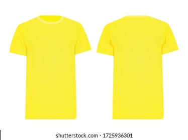 Download T Shirt Yellow Images Stock Photos Vectors Shutterstock PSD Mockup Templates