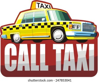 yellow taxi for passenger transportation
