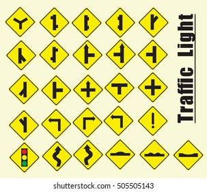 yellow traffic