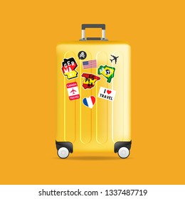 77877eab78 travel stickers suitcase carry Images